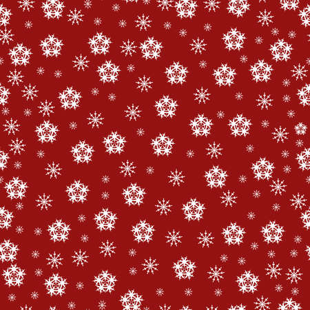 Decorative abstract seamless winter vector background  photo