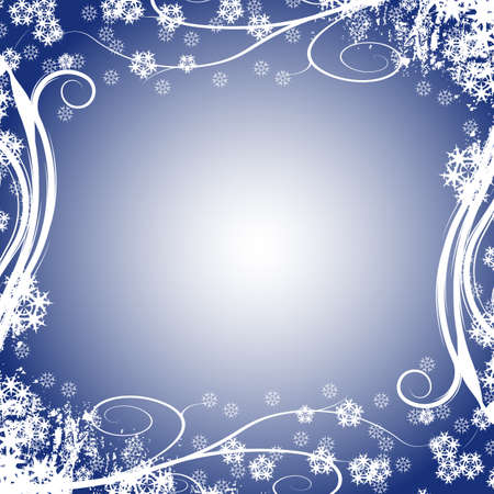 winter vector floral design photo