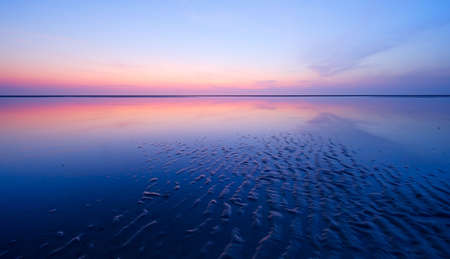 beautiful night at the beach  photo
