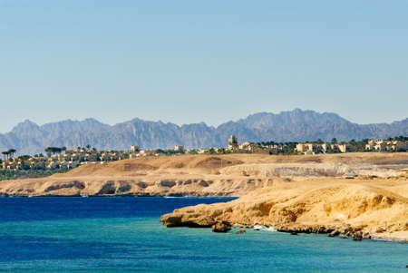 sheikh: dessert coast of sharm el sheikh, egypt Stock Photo