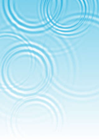 abstract blue water ripple background   Stock Photo