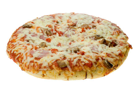 pizza isolated on a white background Stock Photo - 2548545