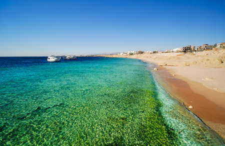 sheikh: the coast of sharm el sheikh in Egypt Stock Photo