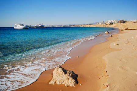 sharm el sheik: the coast of sharm el sheikh in Egypt Stock Photo