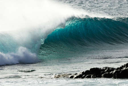 swells: beautiful ocean wave  Stock Photo