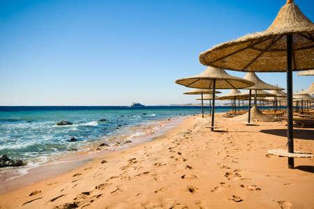 er Küste von Sharm el Sheikh in Ägypten