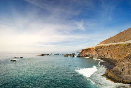 zamora: beautiful coast in La Palma (La zamora - Canary islands Spain)