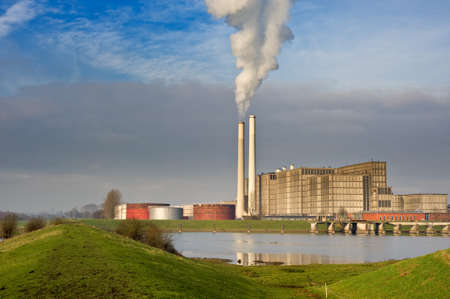 power plant in Zwolle the netherlands photo