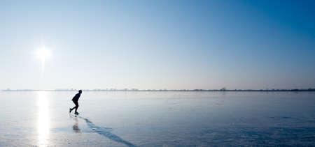 patinando: patinaje sobre hielo en los Pa�ses Bajos