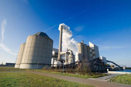 Kraftwerk in Amsterdam Niederlande Standard-Bild - 4152771