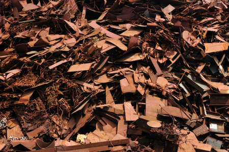 Scrap yard in Amsterdam The Netherlands Stock Photo - 5205198