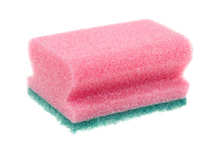 cleaning sponge isolated on a white background Stock Photo - 5900568