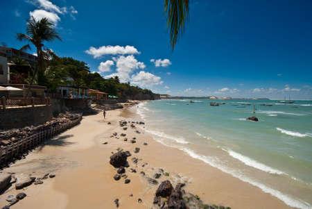 Restaurants mit herrlicher Aussicht in Paria da Pipa-Brasilien  Lizenzfreie Bilder - 6063931