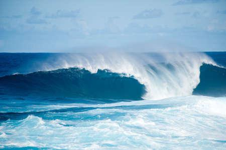 mares: fuerte marejada en La Fajana, Barlevento, La Palma, Islas Canarias, Espa�a