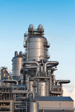 Öl-Raffinerie an der Maasvlakte in Holland Lizenzfreie Bilder - 8820849