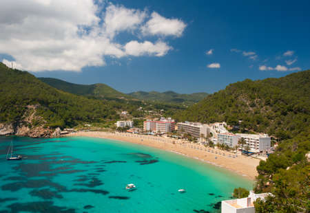 Cala de Sant Vicent auf der North-East Of Ibiza, Spanien