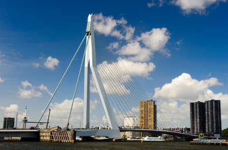 Erasmus Brücke in Rotterdam in den Niederlanden, Europa