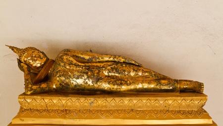 glorify: Rest in a state of sleep style gola Buddha image