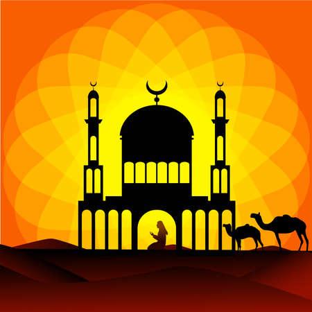 beautiful ramdan kareem islamic background