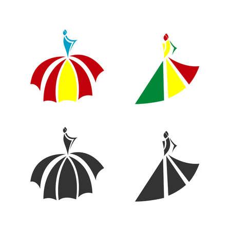 woman fashion logo for dsigner