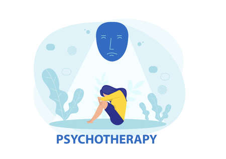 women feeling depression mental disorder psychotherapy concept