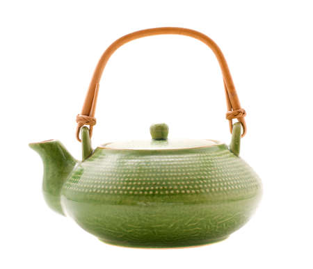 Green teapot photo