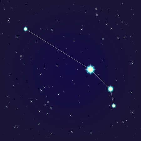 aries  constellation Stock Vector - 13719041