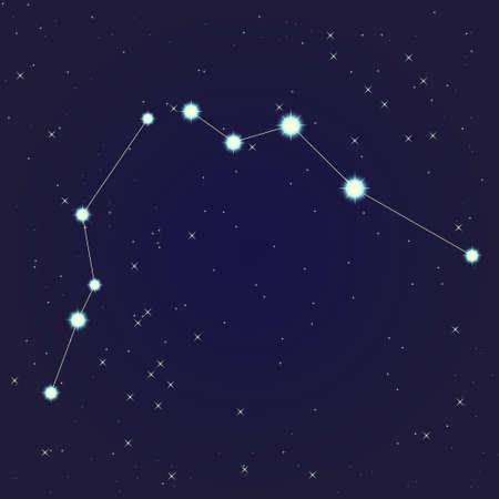 Aquarius constellation