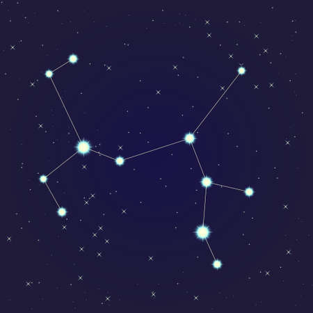 Boogschutter sterrenbeeld Stockfoto - 13912155