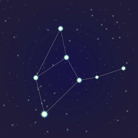 Virgo constellation Stock Vector - 13912151