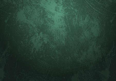 emerald green grunge background Illustration