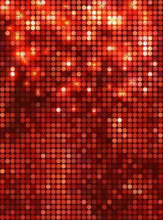 Mosaico rojo vertical