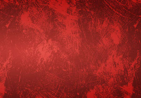 seamless stained shabby red grunge background Stock Illustratie