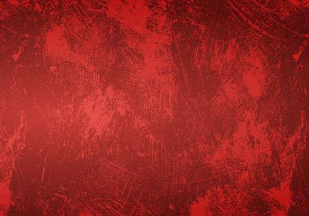 Naadloze lood shabby rode achtergrond grunge Stockfoto - 16713478