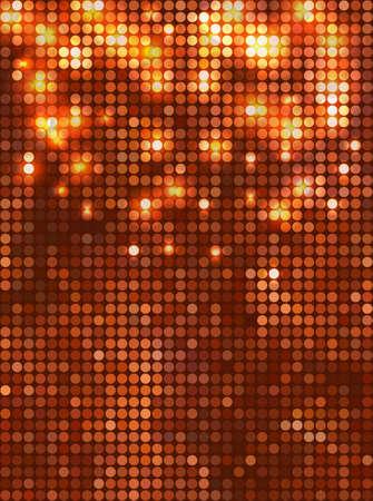 Vertical copper   mosaic