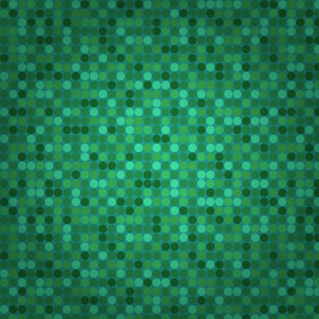 Green seamless mosaic background Stock Vector - 18082362