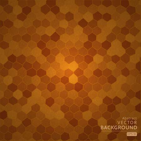 Brown cellular background Vector