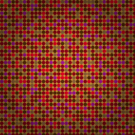 Red beige seamless mosaic background Vector