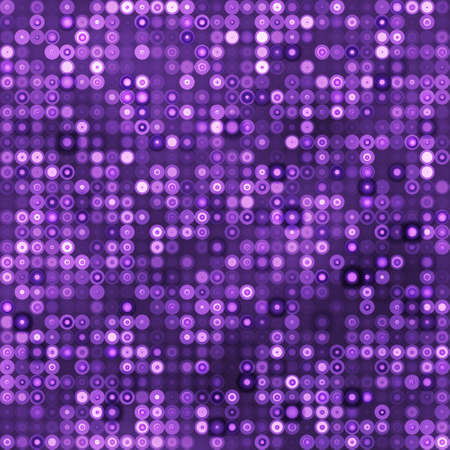 Seamless purple background with circles