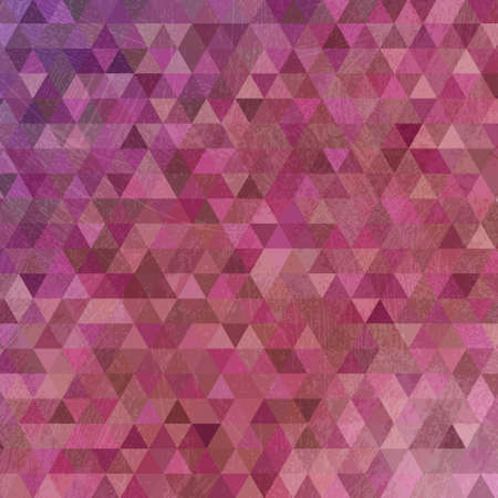 smeared: Grunge violet triangles abstract background