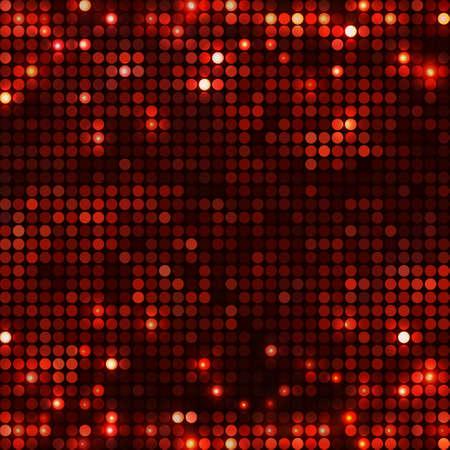 round black red mosaic spots horizontal