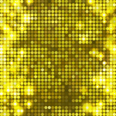 side effect: round yellow mosaic spots vertical