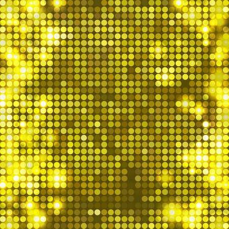 round yellow mosaic spots vertical
