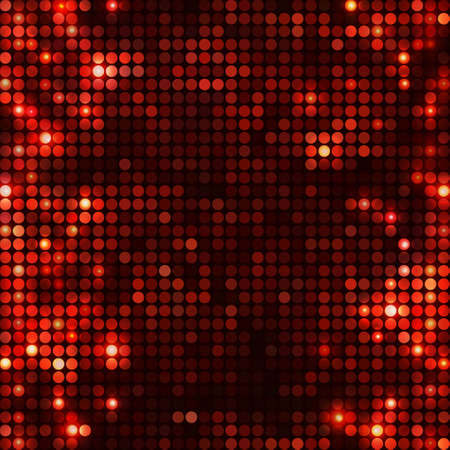round black red mosaic spots vertical