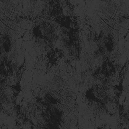 smeared: Grunge black background smeared with gray paint. Vector illustration.
