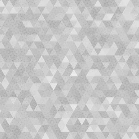 Gray grunge triangles abstract background with spots. Vector illustration. Stock Illustratie