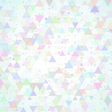 Abstract background with multicolored scattered triangles Illustration