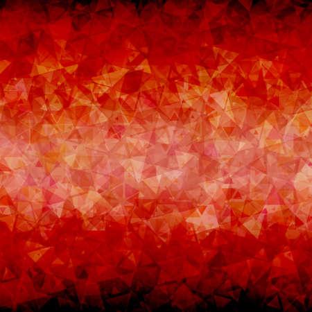 blackout: Abstracte rode zwarte driehoek achtergrond met blackout op de boven- en onderkant.