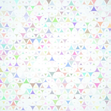 Abstract vector background with multicolored scattered shapes Vector