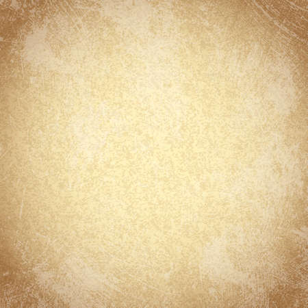 Vector seamless shabby beige grunge background  Aged paper